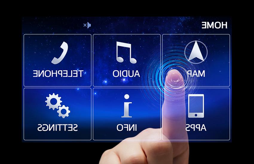 Control cu Touch-Screen
