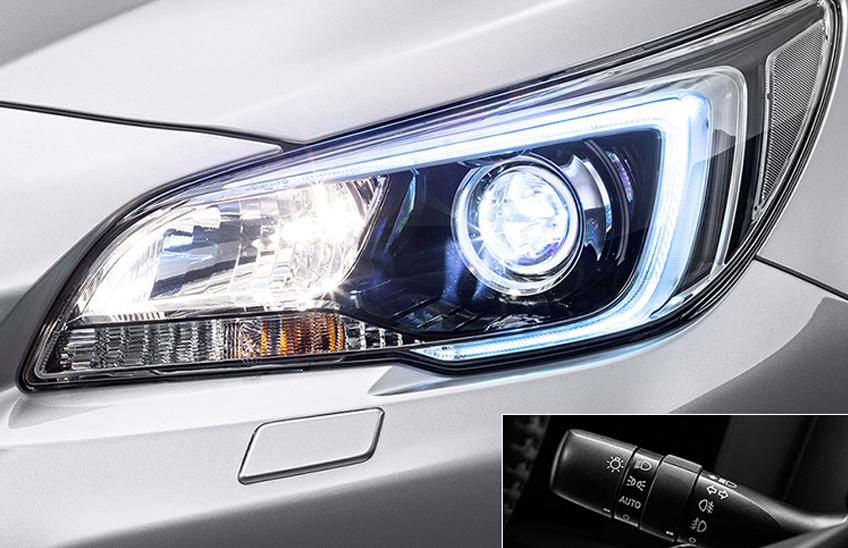 Faruri autoreglabile cu LED