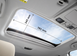 Larger Sunroof