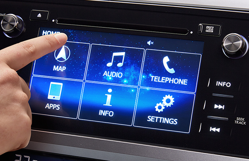 Navigare cu Touch Screen