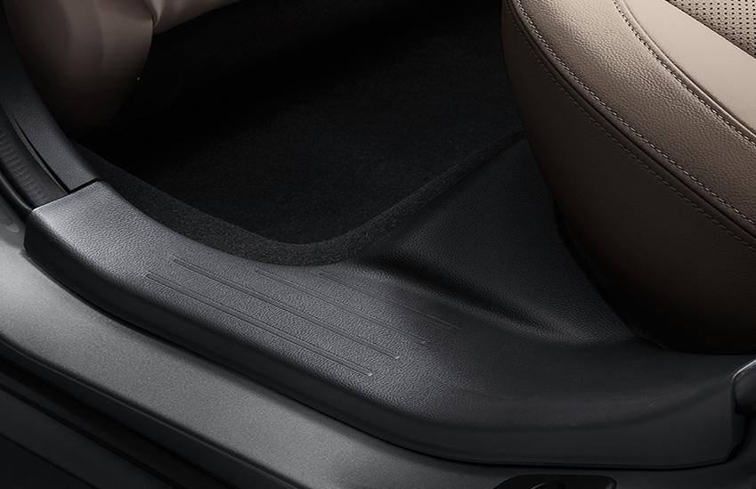 Plastic protectie prag interior