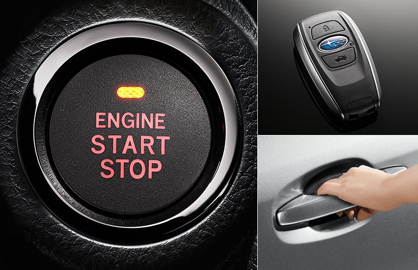 Pornire la buton si deblocare Keyless