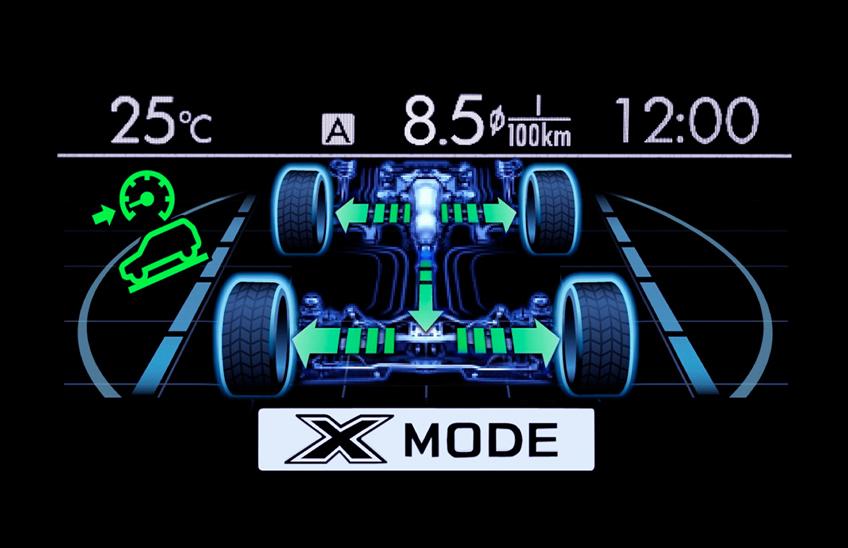 X-mode si Controlul la Coborare